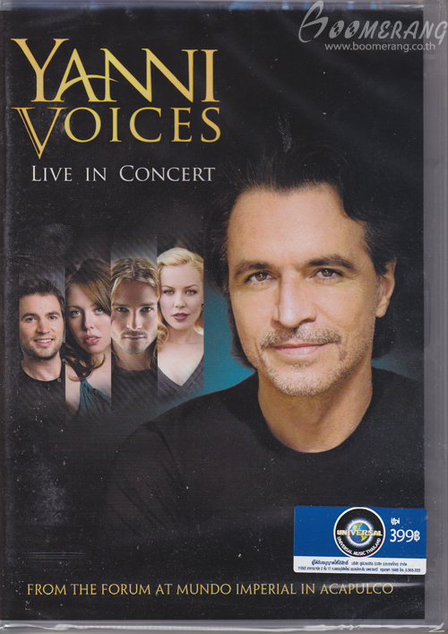 Yanni: Voices Live in Concert At Acapulco | BoomerangShop