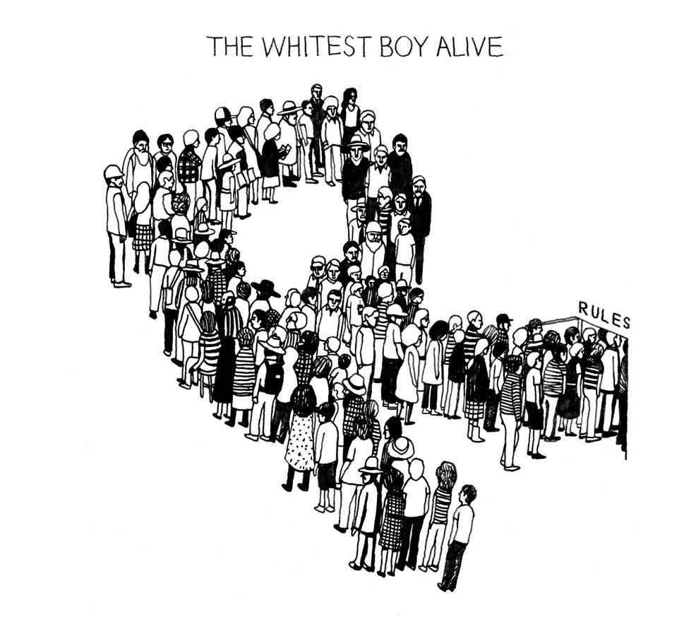 The Whitest Boy Alive Rules Spicy Disc Boomerangshop