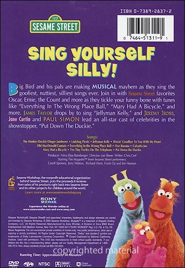 Sesame Street Sing Hoot And Howl Vhs Sesame Street Sing You...