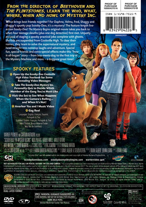 scooby doo the mystery begins full movie youtube