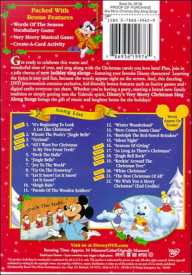 pictures photos from disney sing along songs very merry