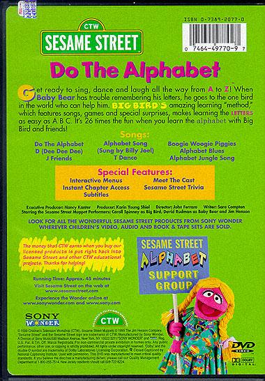 Sesame Street Do The Alphabet Vhs Ebay Related